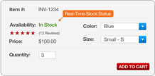 Real-Time Stock Status